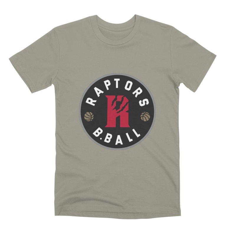 [Toronto] Raptors B.Ball - Grey Men's Premium T-Shirt by Silli Philli Produktionz
