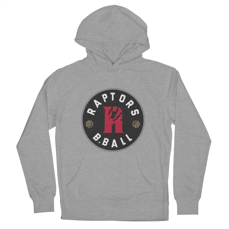 [Toronto] Raptors B.Ball - Grey Men's French Terry Pullover Hoody by Silli Philli Produktionz
