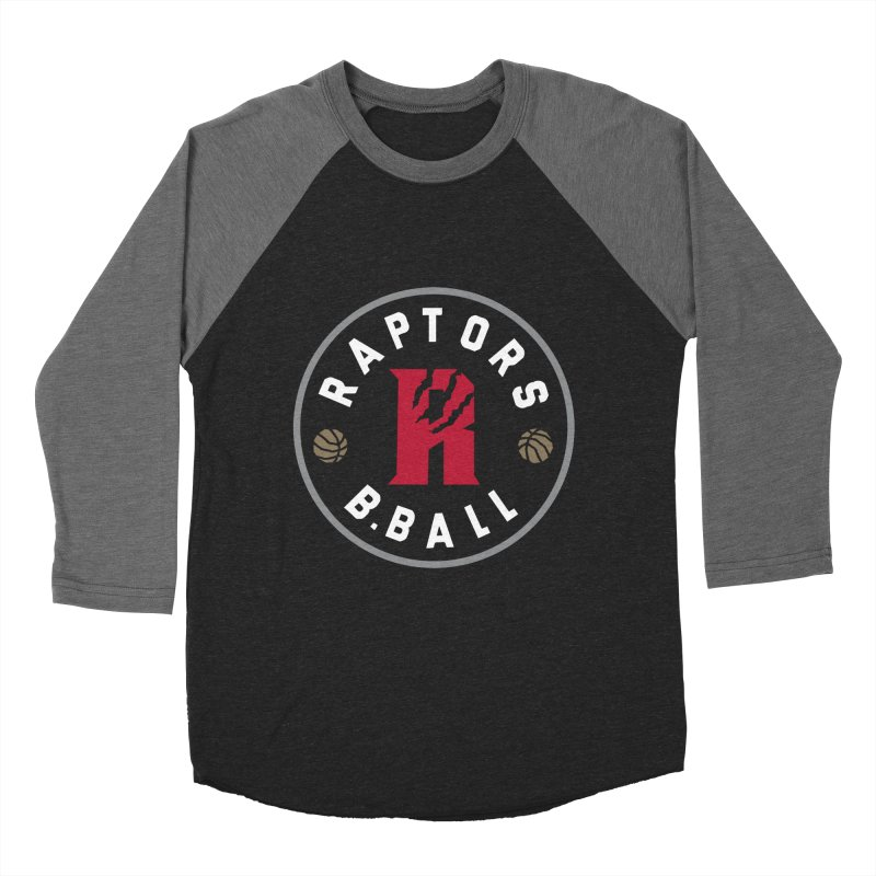 [Toronto] Raptors B.Ball - Grey Women's Baseball Triblend Longsleeve T-Shirt by Silli Philli Produktionz