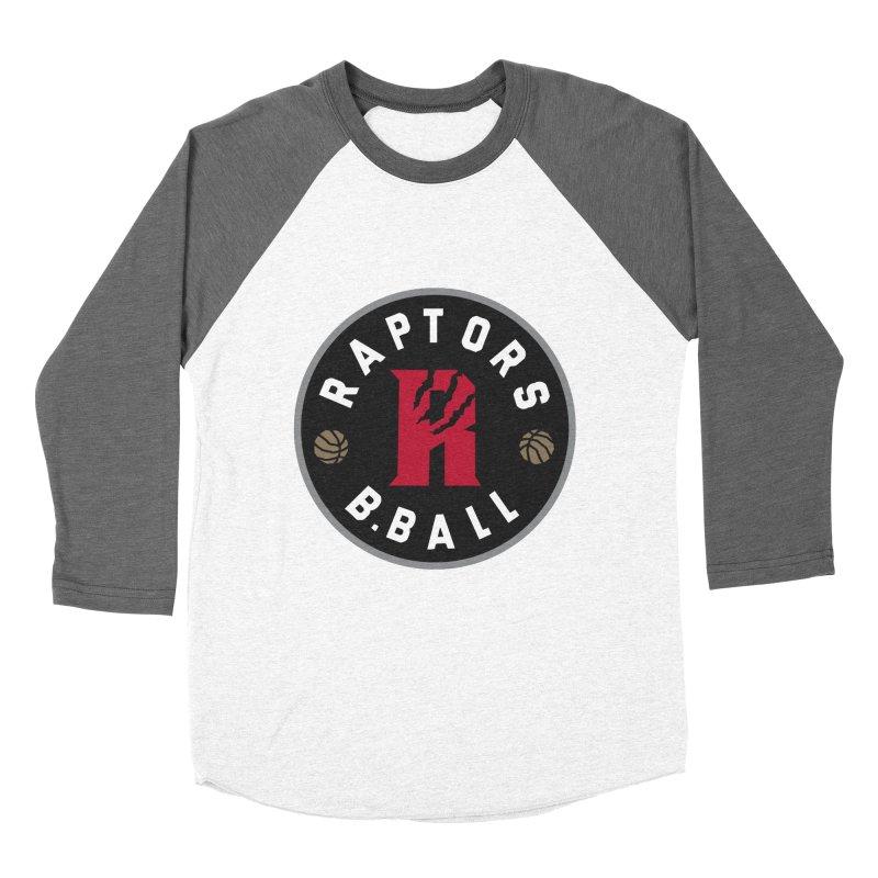 [Toronto] Raptors B.Ball - Grey Men's Baseball Triblend Longsleeve T-Shirt by Silli Philli Produktionz