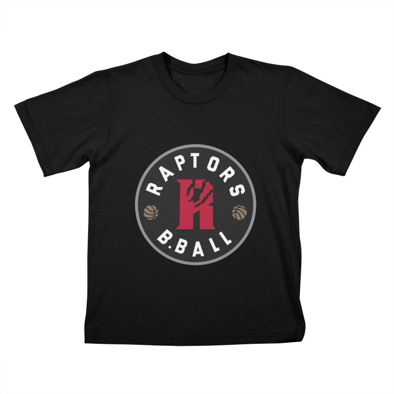 [Toronto] Raptors B.Ball - Grey Kids T-Shirt by Silli Philli Produktionz
