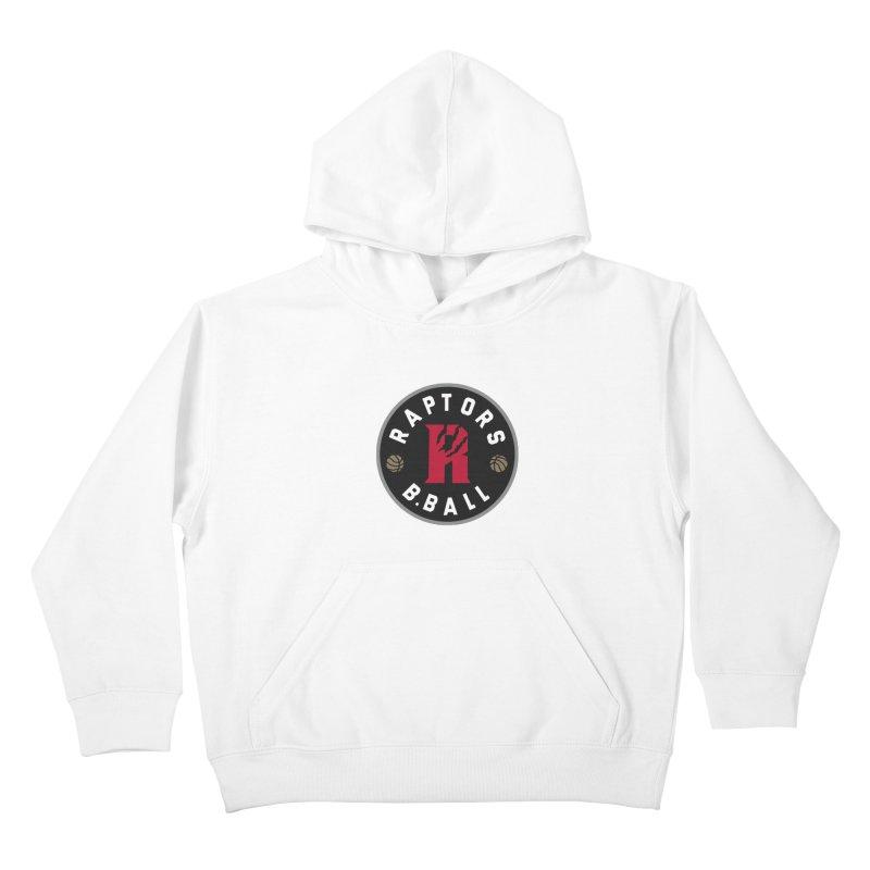 [Toronto] Raptors B.Ball - Grey Kids Pullover Hoody by Silli Philli Produktionz