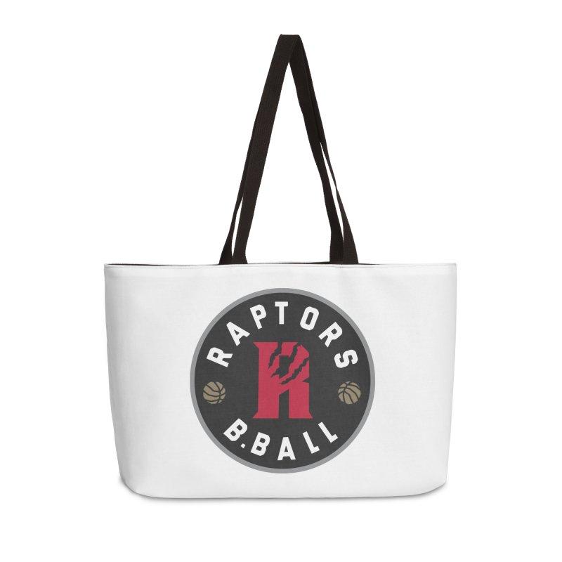 [Toronto] Raptors B.Ball - Grey Accessories Weekender Bag Bag by Silli Philli Produktionz
