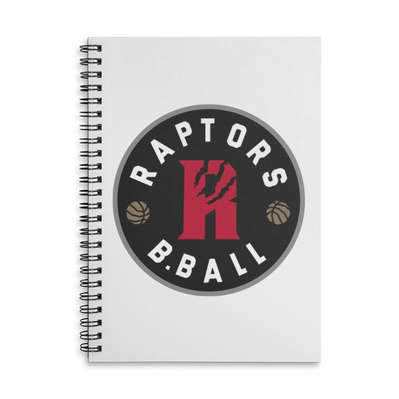 [Toronto] Raptors B.Ball - Grey Accessories Lined Spiral Notebook by Silli Philli Produktionz | Custom Prints
