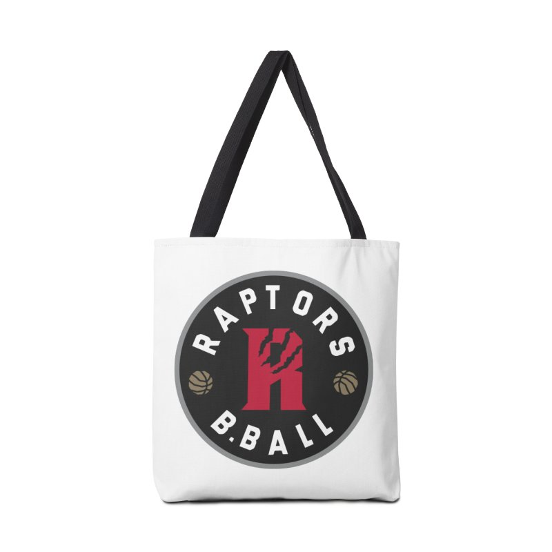 [Toronto] Raptors B.Ball - Grey Accessories Tote Bag Bag by Silli Philli Produktionz | Custom Prints