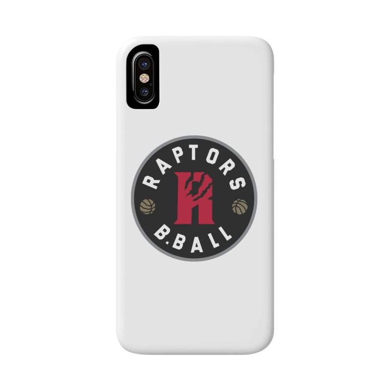 [Toronto] Raptors B.Ball - Grey Accessories Phone Case by Silli Philli Produktionz
