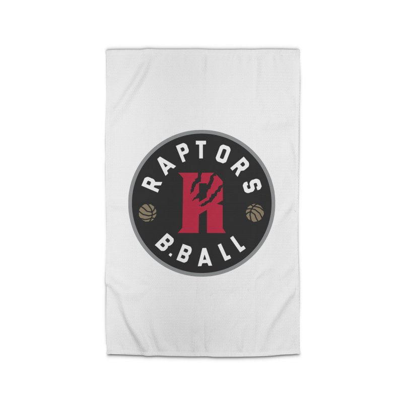 [Toronto] Raptors B.Ball - Grey Home Rug by Silli Philli Produktionz