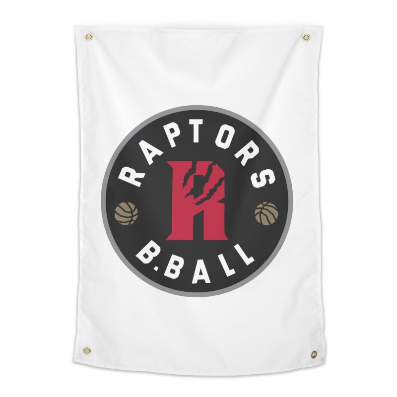 [Toronto] Raptors B.Ball - Grey Home Tapestry by Silli Philli Produktionz