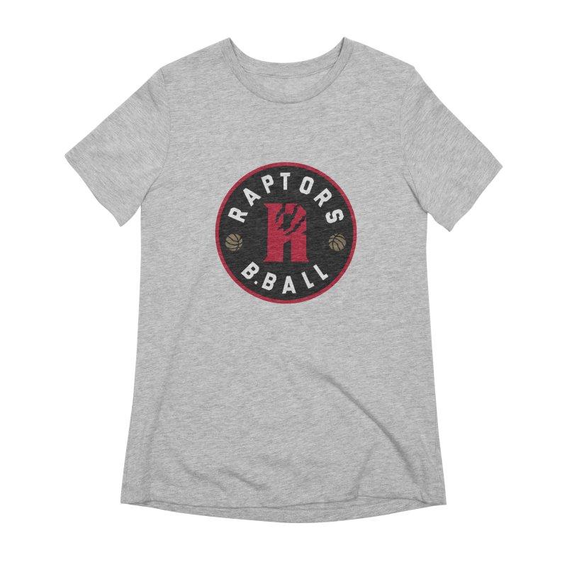 [Toronto] Raptors B.Ball - Red Women's Extra Soft T-Shirt by Silli Philli Produktionz | Custom Prints