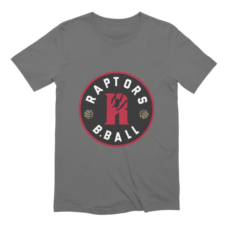 [Toronto] Raptors B.Ball - Red Men's Extra Soft T-Shirt by Silli Philli Produktionz