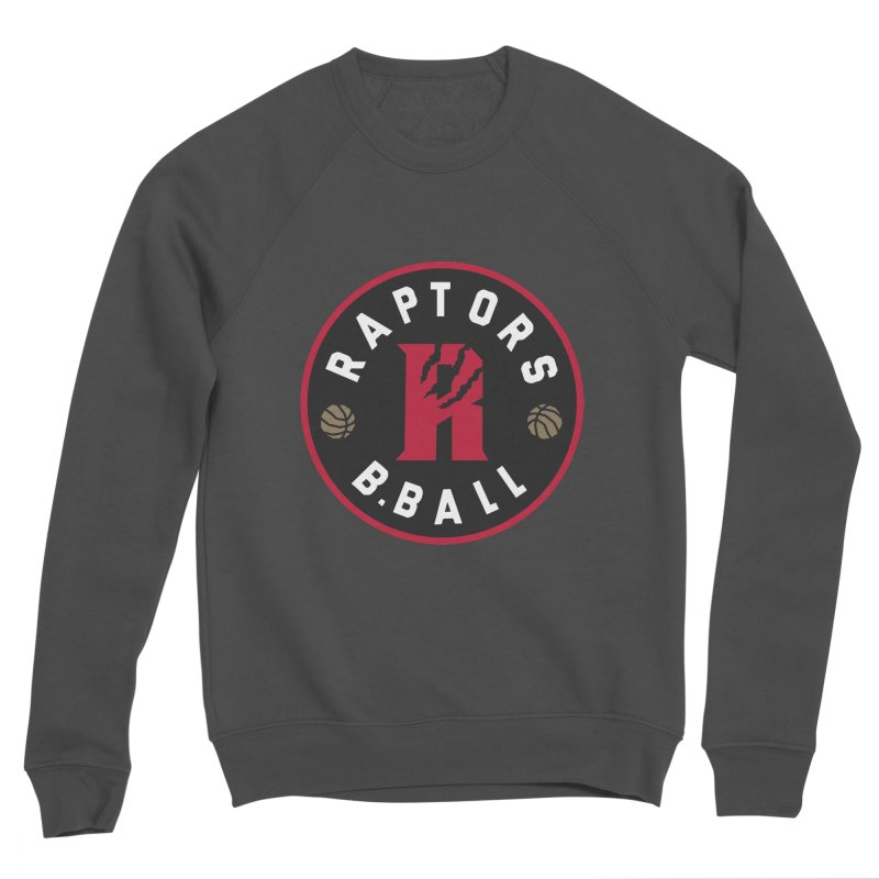 [Toronto] Raptors B.Ball - Red Women's Sponge Fleece Sweatshirt by Silli Philli Produktionz