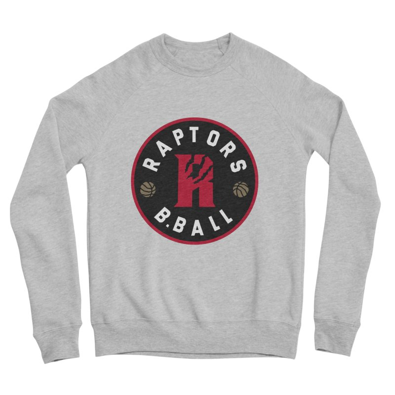 [Toronto] Raptors B.Ball - Red Men's Sponge Fleece Sweatshirt by Silli Philli Produktionz