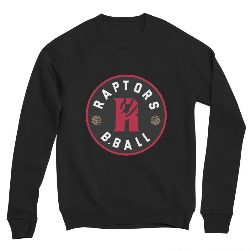 [Toronto] Raptors B.Ball - Red Men's Sponge Fleece Sweatshirt by Silli Philli Produktionz | Custom Prints