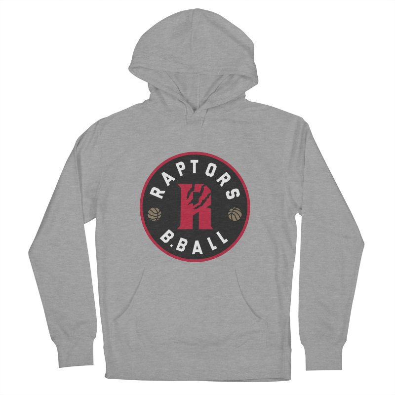 [Toronto] Raptors B.Ball - Red Women's French Terry Pullover Hoody by Silli Philli Produktionz