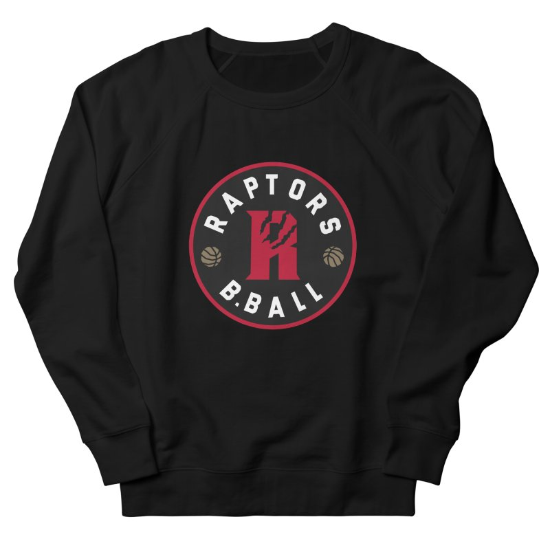 [Toronto] Raptors B.Ball - Red Men's French Terry Sweatshirt by Silli Philli Produktionz