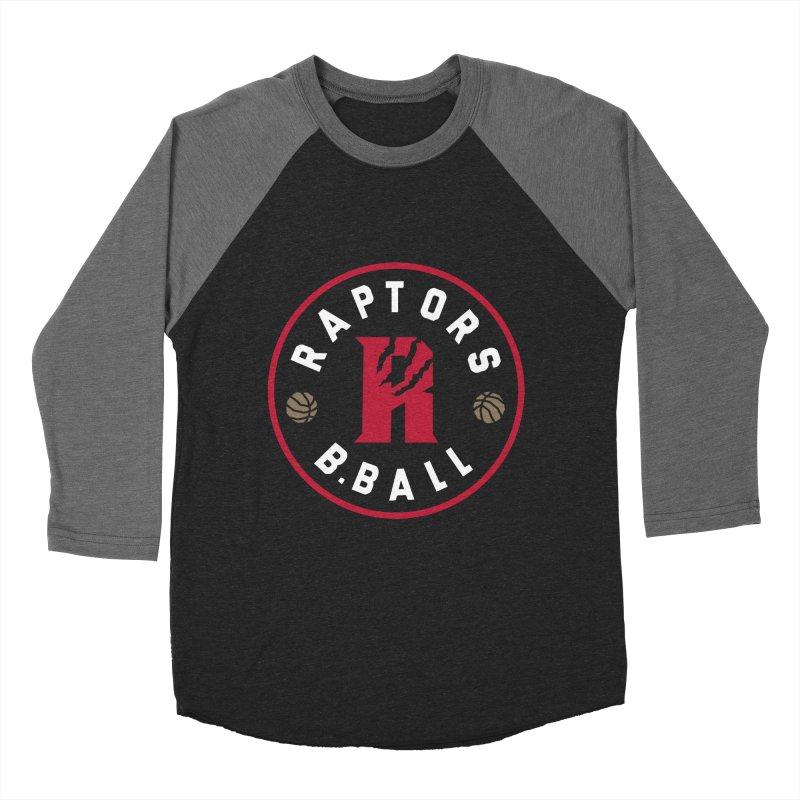 [Toronto] Raptors B.Ball - Red Women's Baseball Triblend Longsleeve T-Shirt by Silli Philli Produktionz
