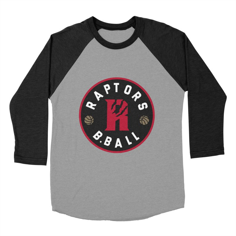 [Toronto] Raptors B.Ball - Red Women's Baseball Triblend Longsleeve T-Shirt by Silli Philli Produktionz | Custom Prints