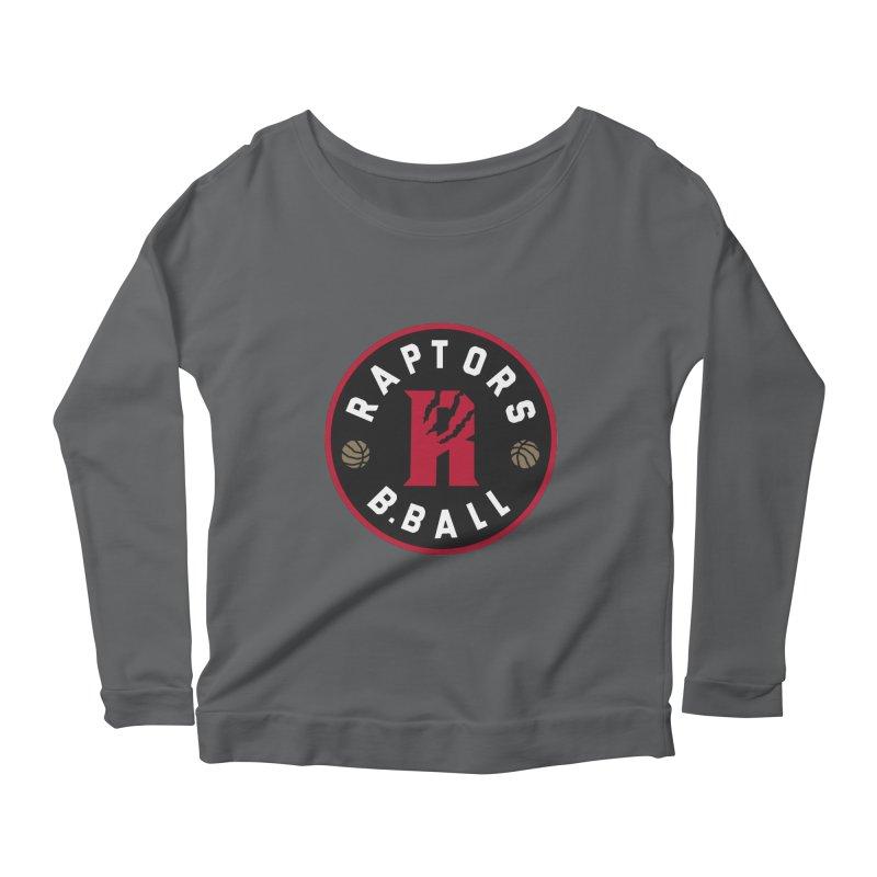 [Toronto] Raptors B.Ball - Red Women's Scoop Neck Longsleeve T-Shirt by Silli Philli Produktionz
