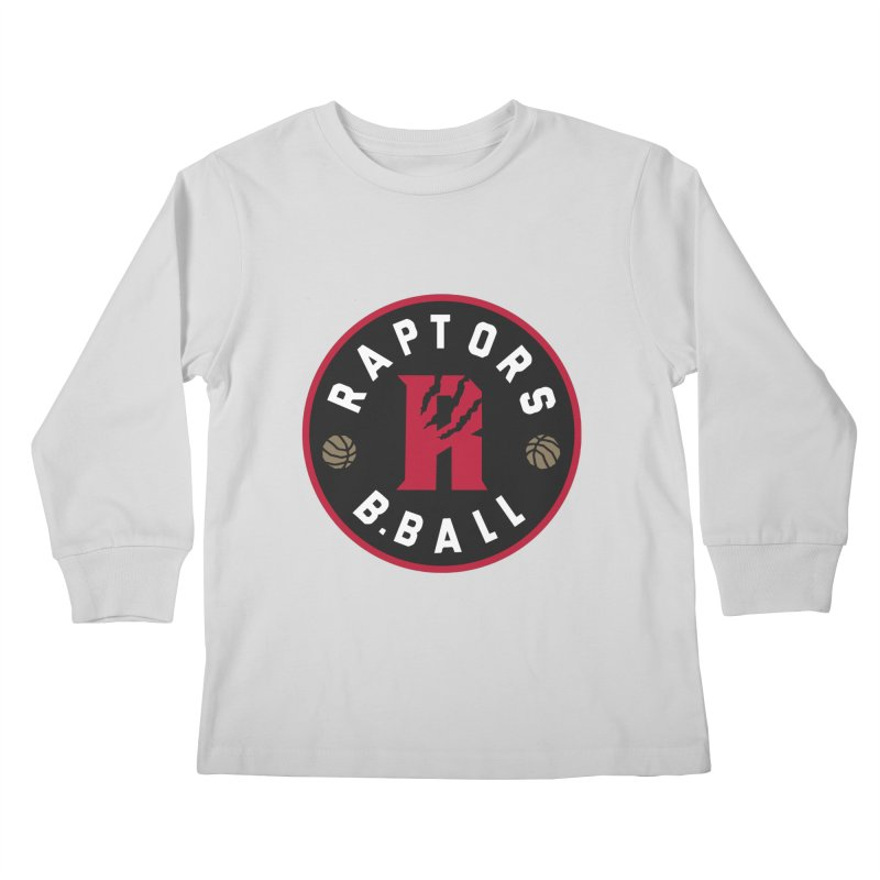 [Toronto] Raptors B.Ball - Red Kids Longsleeve T-Shirt by Silli Philli Produktionz | Custom Prints