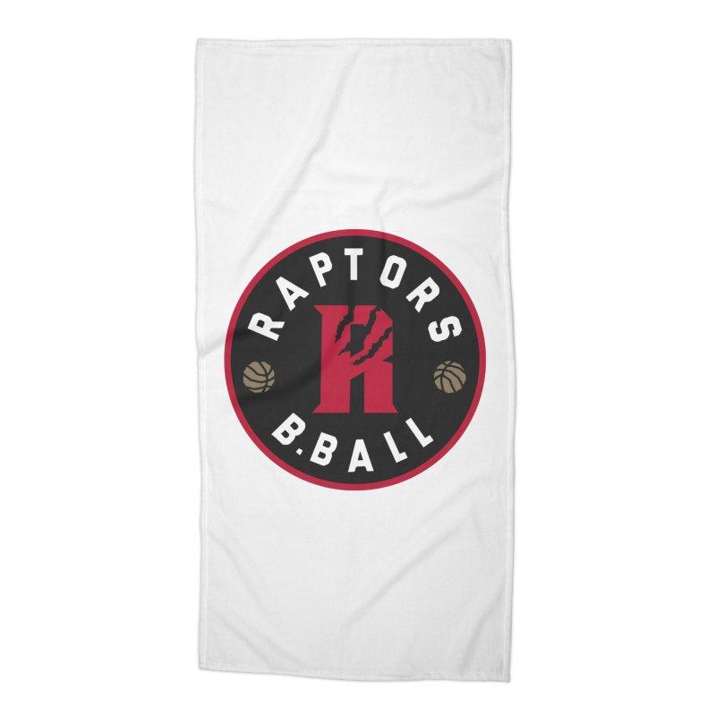[Toronto] Raptors B.Ball - Red Accessories Beach Towel by Silli Philli Produktionz | Custom Prints
