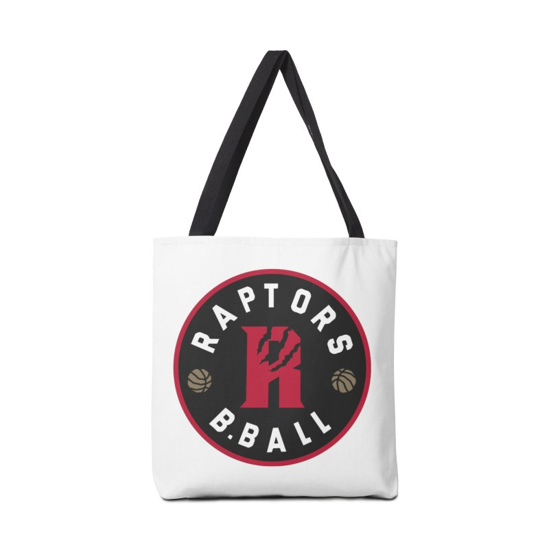 [Toronto] Raptors B.Ball - Red Accessories Tote Bag Bag by Silli Philli Produktionz | Custom Prints