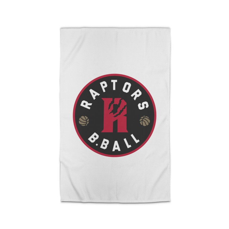 [Toronto] Raptors B.Ball - Red Home Rug by Silli Philli Produktionz