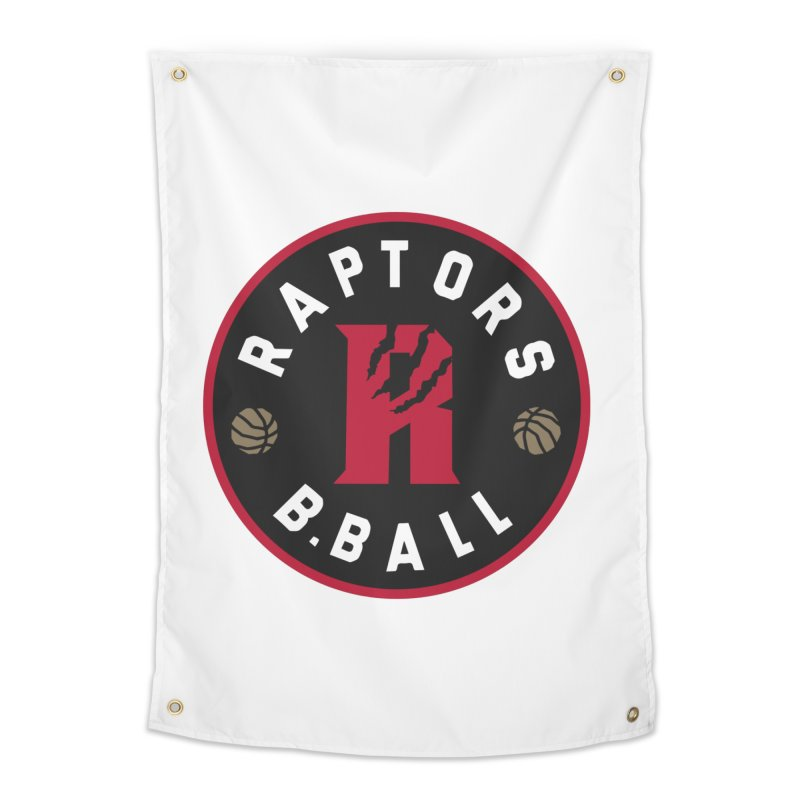 [Toronto] Raptors B.Ball - Red Home Tapestry by Silli Philli Produktionz