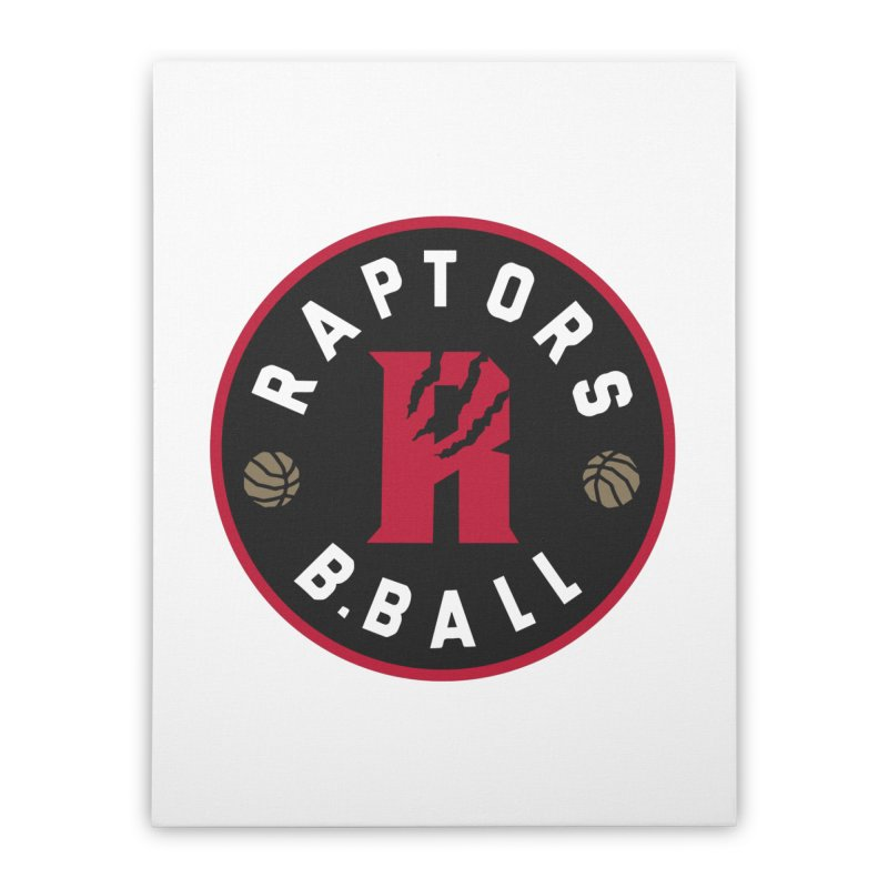 [Toronto] Raptors B.Ball - Red Home Stretched Canvas by Silli Philli Produktionz | Custom Prints