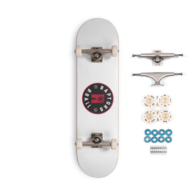 [Toronto] Raptors B.Ball - Red Accessories Complete - Premium Skateboard by Silli Philli Produktionz