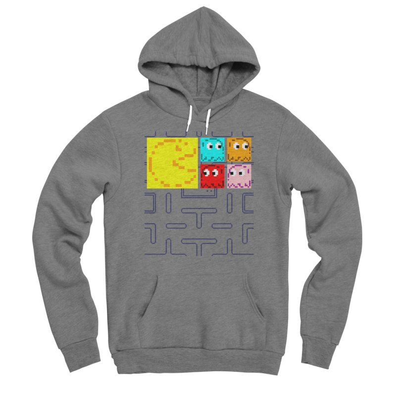 Pac-Maan & The Ghostly Gang Men's Pullover Hoody by Silli Philli Produktionz | Custom Prints