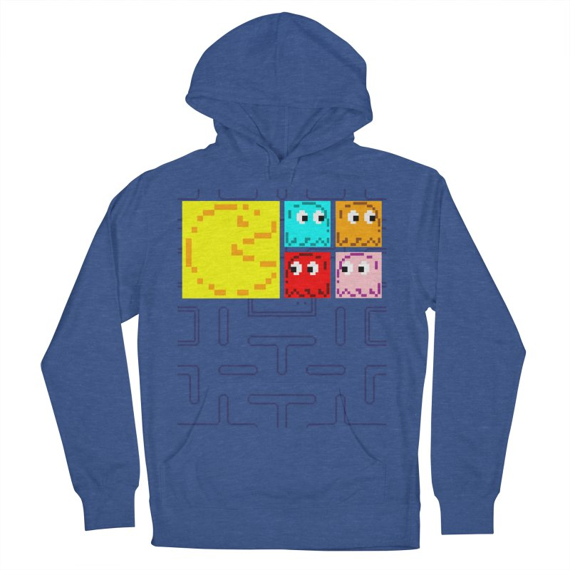 Pac-Maan & The Ghostly Gang Women's French Terry Pullover Hoody by Silli Philli Produktionz | Custom Prints