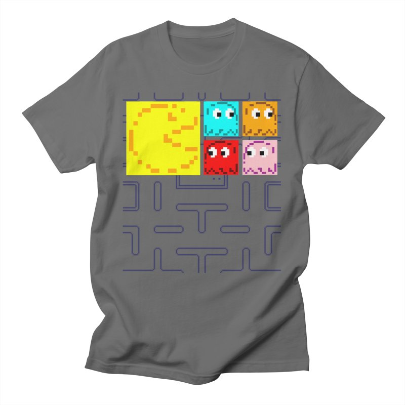 Pac-Maan & The Ghostly Gang Men's T-Shirt by Silli Philli Produktionz | Custom Prints