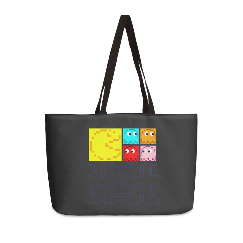 Pac-Maan & The Ghostly Gang Accessories Weekender Bag Bag by Silli Philli Produktionz