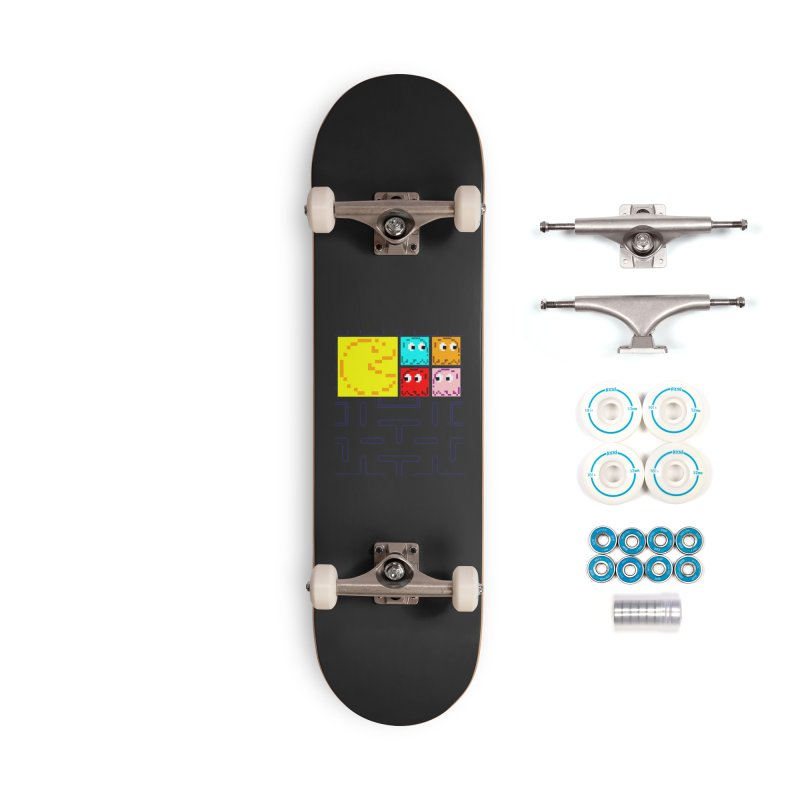 Pac-Maan & The Ghostly Gang Accessories Complete - Basic Skateboard by Silli Philli Produktionz | Custom Prints