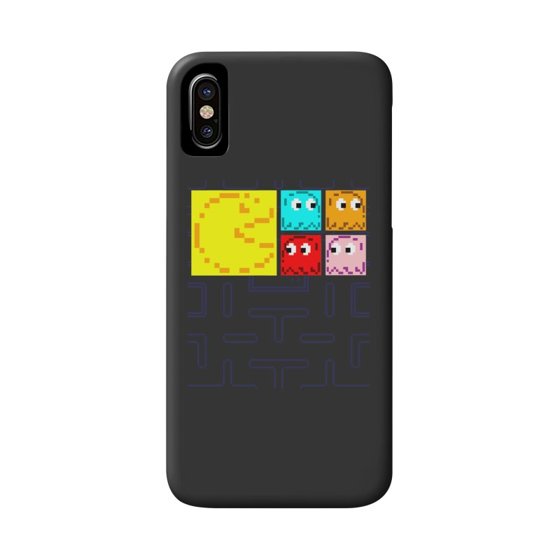 Pac-Maan & The Ghostly Gang Accessories Phone Case by Silli Philli Produktionz