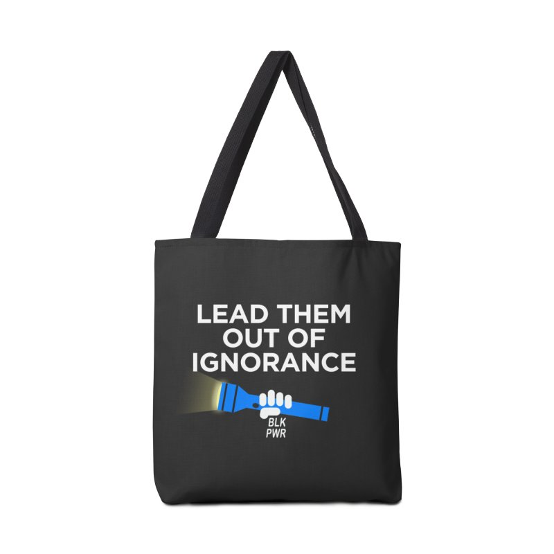 BLKPWR - Out Of Ignorance Accessories Bag by Silli Philli Produktionz