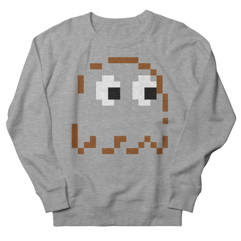 Pacman   Ghost-Clyde Men's French Terry Sweatshirt by Silli Philli Produktionz