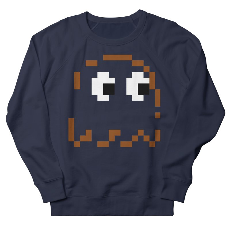 Pacman | Ghost-Clyde Men's French Terry Sweatshirt by Silli Philli Produktionz