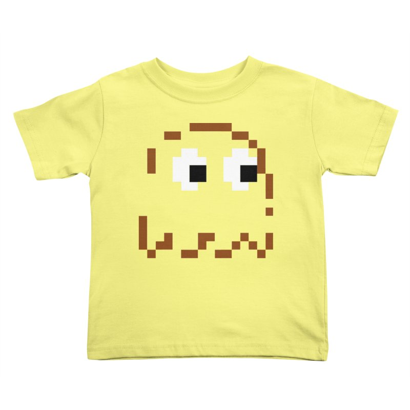 Pacman | Ghost-Clyde Kids Toddler T-Shirt by Silli Philli Produktionz