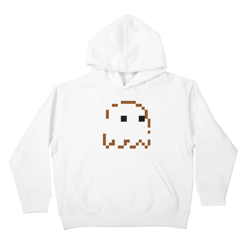 Pacman | Ghost-Clyde Kids Pullover Hoody by Silli Philli Produktionz