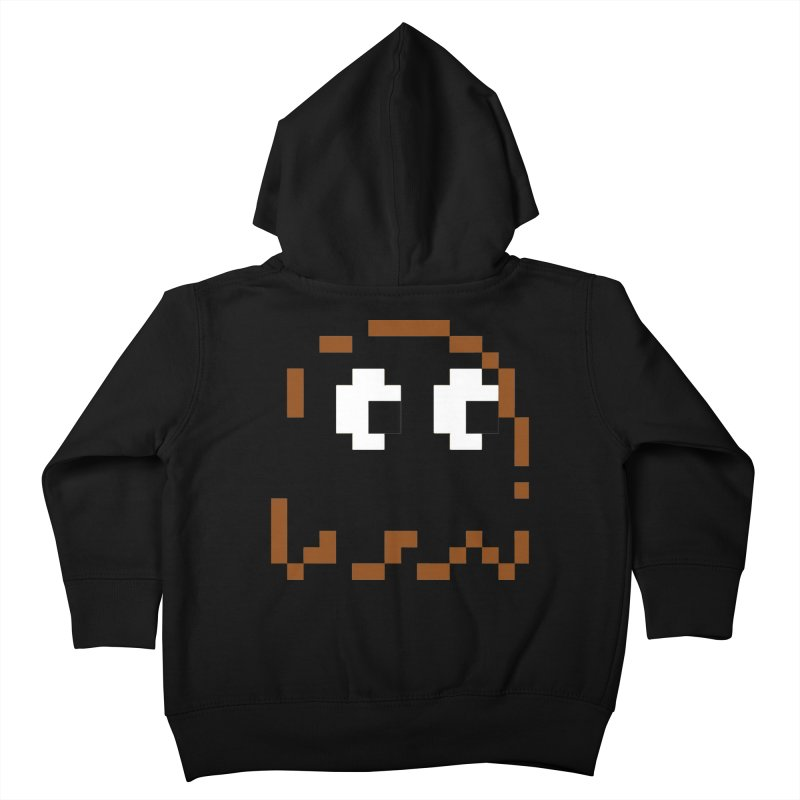 Pacman | Ghost-Clyde Kids Toddler Zip-Up Hoody by Silli Philli Produktionz