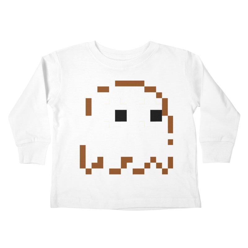 Pacman   Ghost-Clyde Kids Toddler Longsleeve T-Shirt by Silli Philli Produktionz