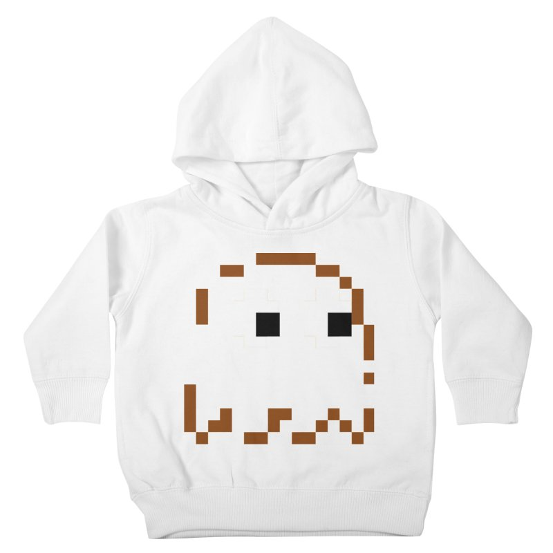 Pacman | Ghost-Clyde Kids Toddler Pullover Hoody by Silli Philli Produktionz
