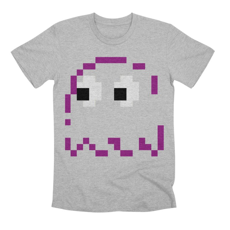 Pacman | Ghost Pinky Men's Premium T-Shirt by Silli Philli Produktionz