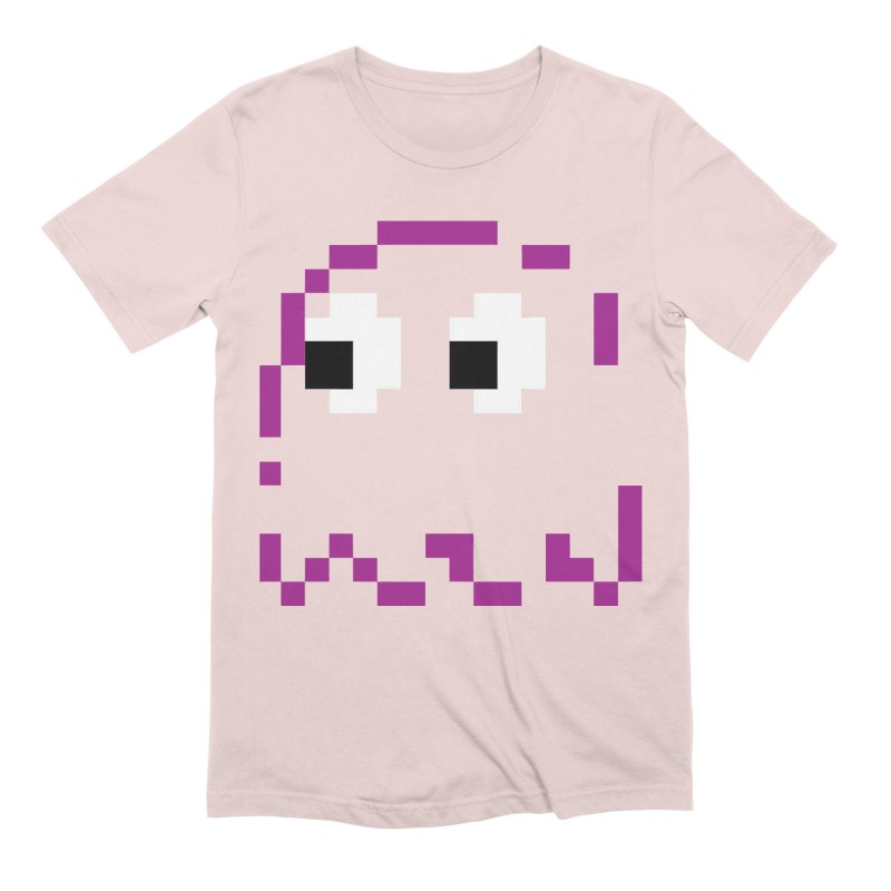 Pacman | Ghost Pinky Men's Extra Soft T-Shirt by Silli Philli Produktionz