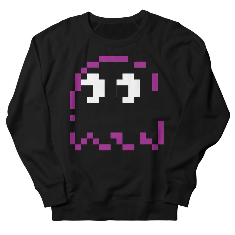 Pacman | Ghost Pinky Men's French Terry Sweatshirt by Silli Philli Produktionz