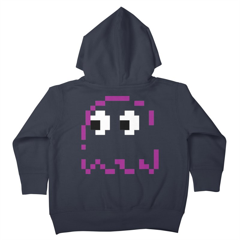 Pacman | Ghost Pinky Kids Toddler Zip-Up Hoody by Silli Philli Produktionz | Custom Prints