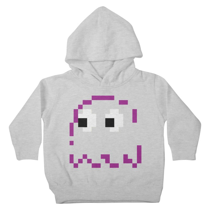 Pacman | Ghost Pinky Kids Toddler Pullover Hoody by Silli Philli Produktionz | Custom Prints