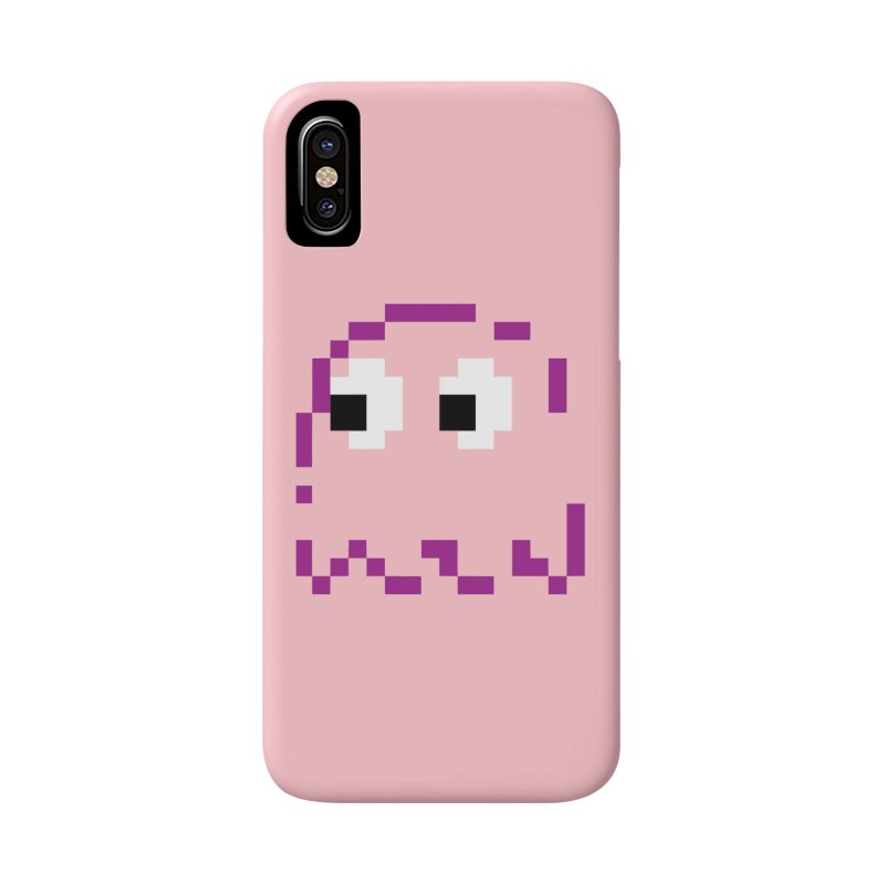Pacman | Ghost Pinky Accessories Phone Case by Silli Philli Produktionz