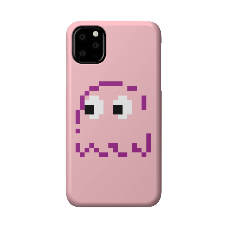 Pacman | Ghost Pinky Accessories Phone Case by Silli Philli Produktionz | Custom Prints